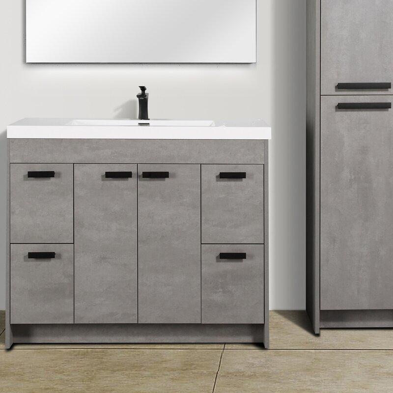 Latitude Run Daggna 42 Single Bathroom Vanity Set Wayfair