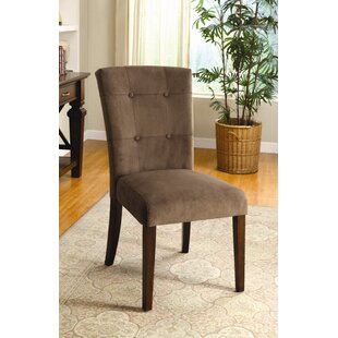 Kleopatra Velvet Side Chair (Set of 2) Latitude Run