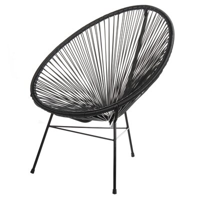 Acapulco Papasan Chair Finish: Black by PoliVaz