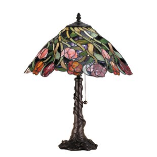 Nouveau Spiral Tulip 21 Table Lamp