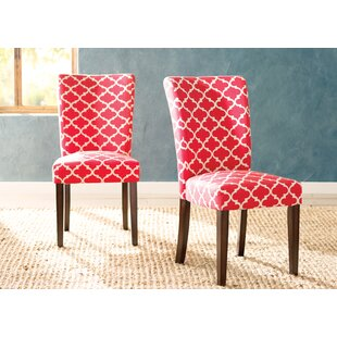 Lea Upholstered Dining Chair (Set of 2)