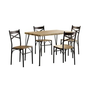 Owasco 5 Piece Dining Set Gracie Oaks