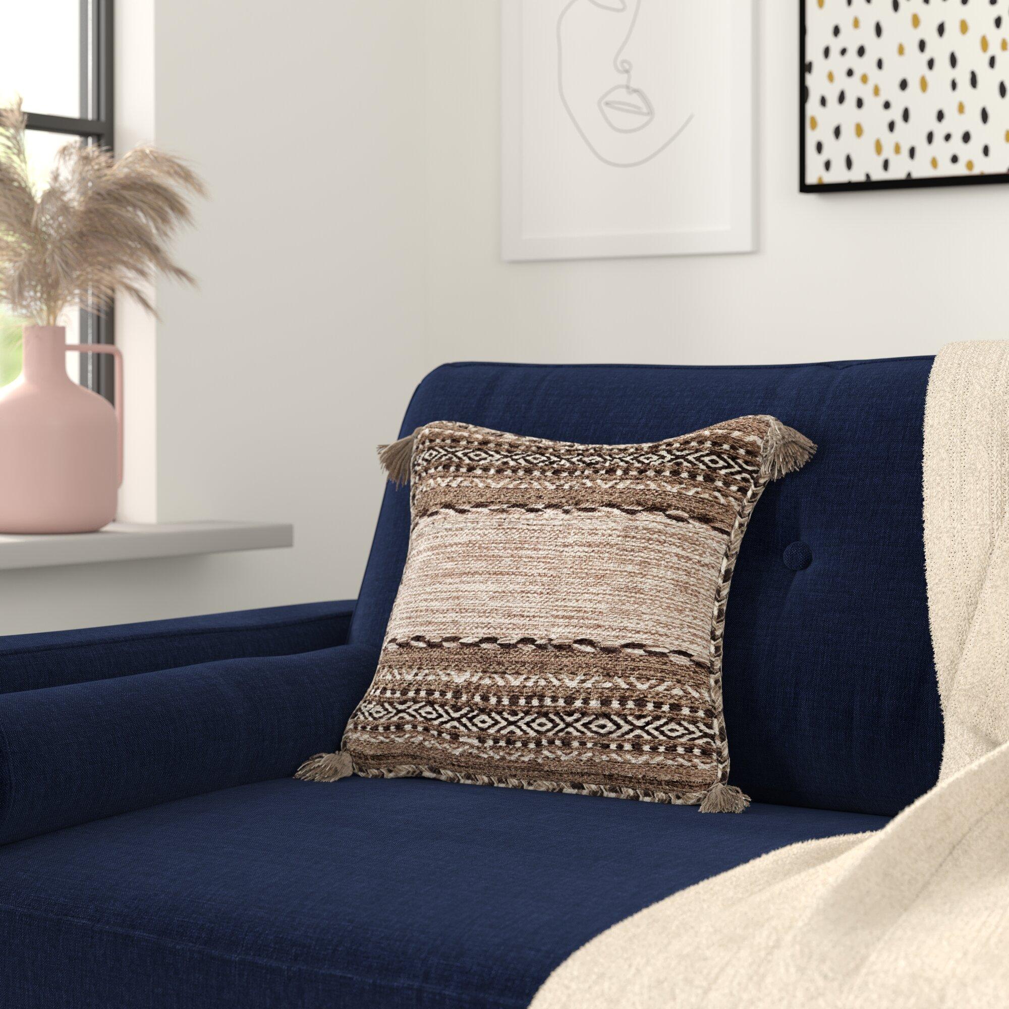 Gorgi Down Geometric Throw Pillow Reviews Allmodern