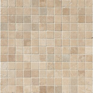 Tuscany Clic 2 X Travertine Mosaic Tile In Beige