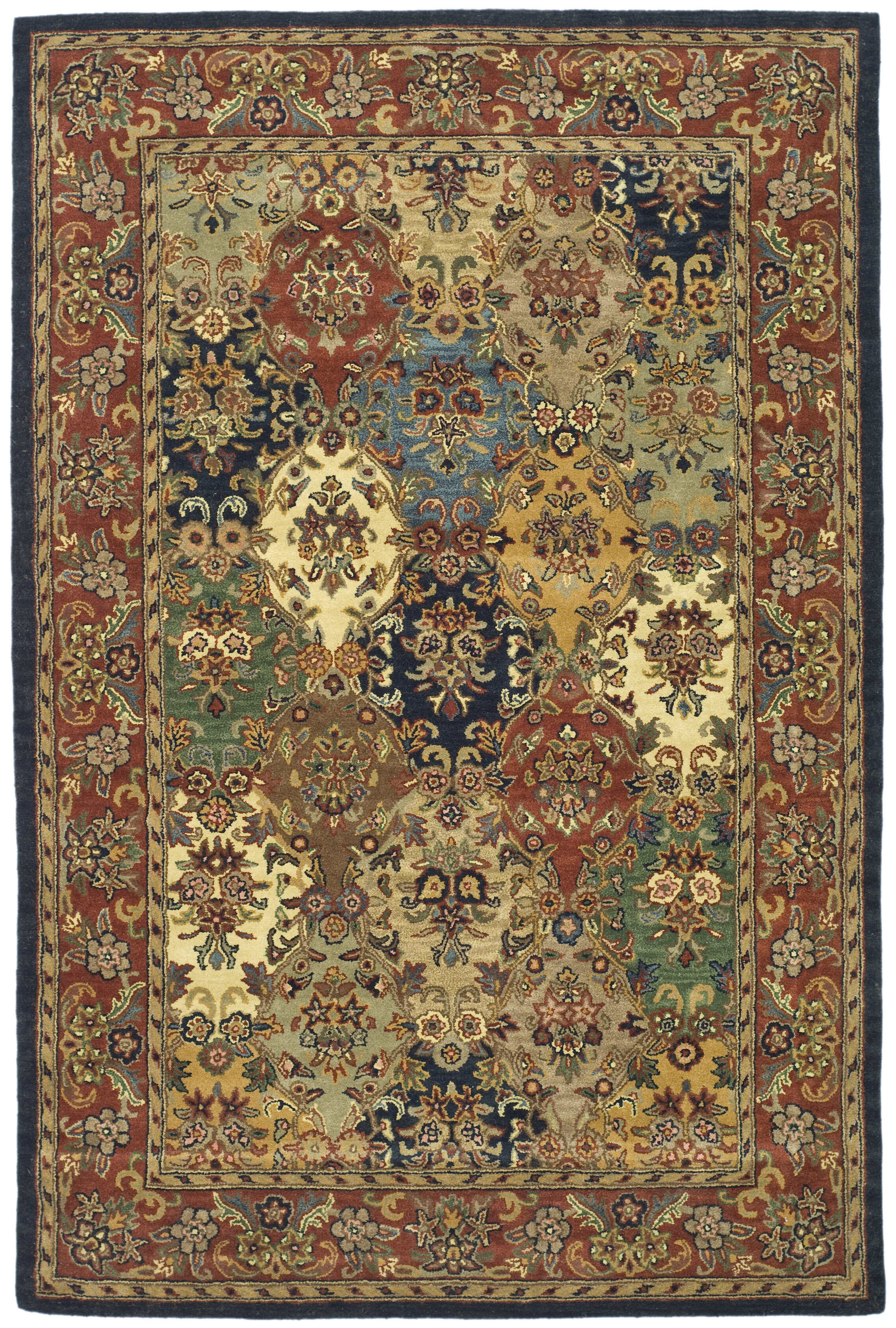 Astoria Grand Costilla Wool Hand Tufted Area Rug Reviews Wayfair
