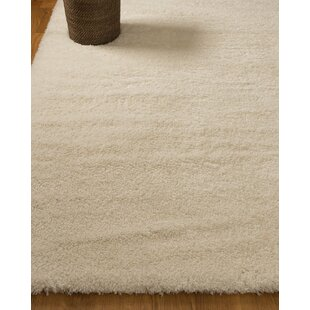 Savings Paisley Hand-Woven White Area Rug By Natural Area Rugs