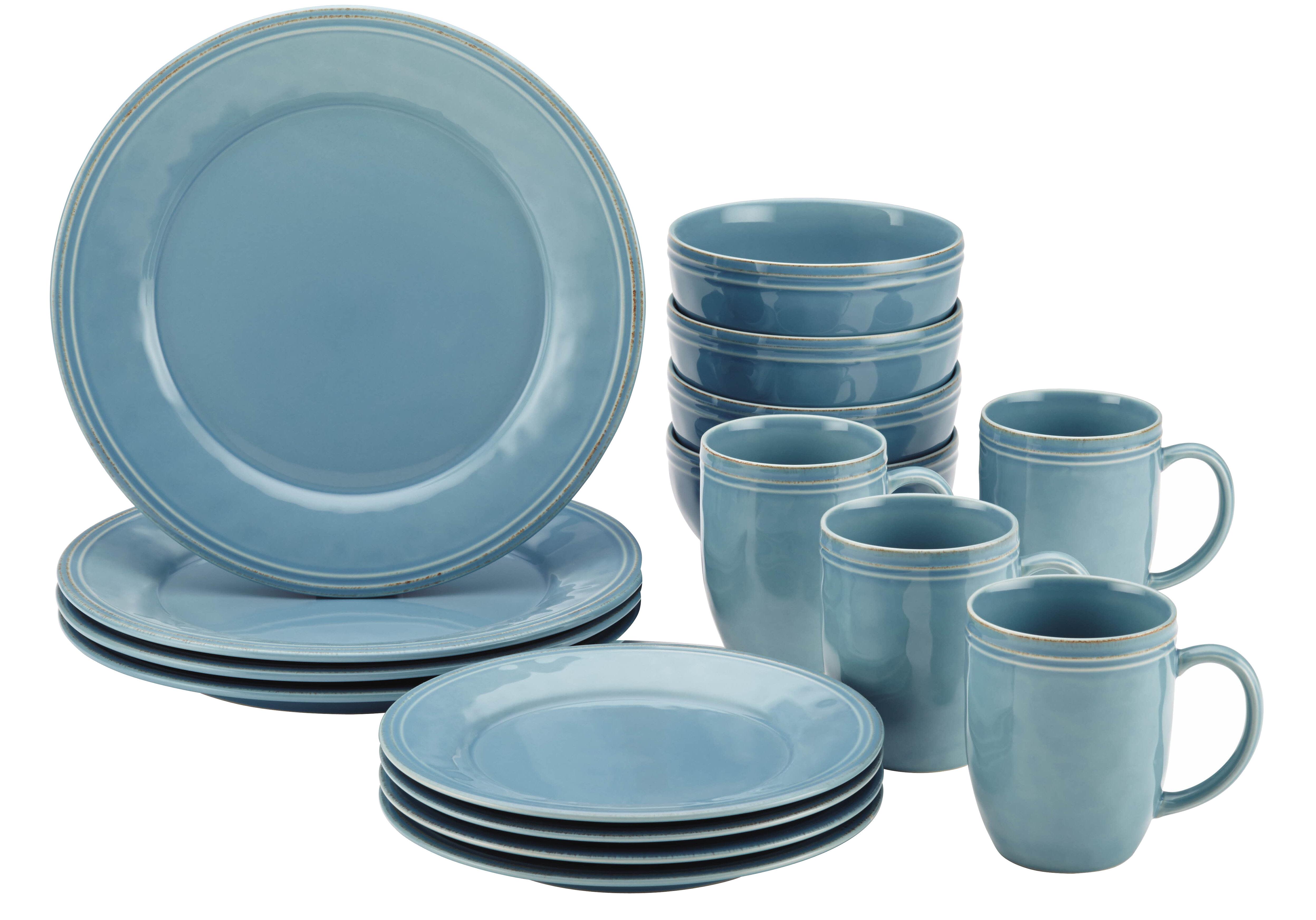 Rachael Ray Cucina 16 Piece Dinnerware Set, Service for 4 & Reviews ...