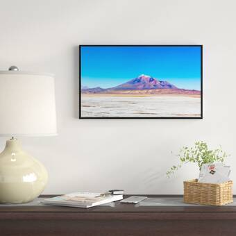 East Urban Home Altiplano Near Uyuni Panorama Framed Photographic Print On Wrapped Canvas Wayfair