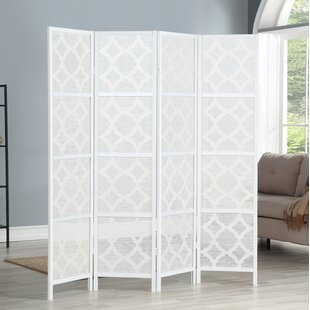 Buying Keper Quarterfoil Infused Diamond Design 4 Panel Room Divider By Mercer41