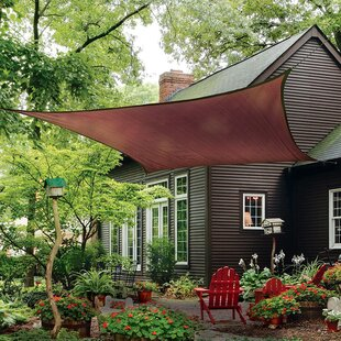 16u0027 Heavyweight Square Shade Sail & Shade Sails Youu0027ll Love | Wayfair