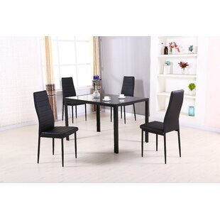 Simonton 5 Piece Dining Set Orren Ellis