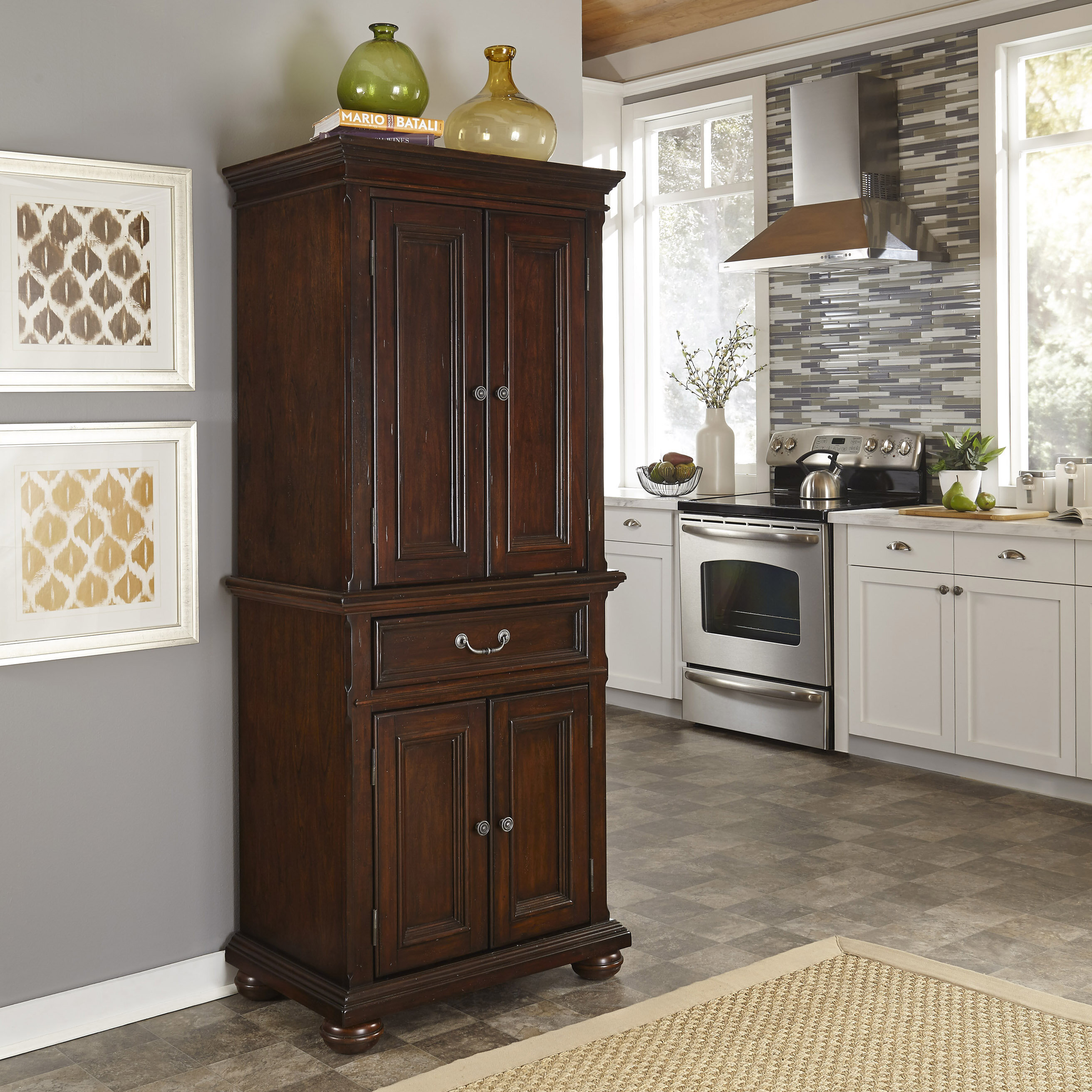 Darby Home Co Givens 72 Kitchen Pantry Reviews