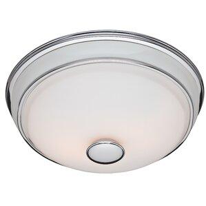 90 CFM Bathroom Exhaust Fan with Light  sc 1 st  Wayfair & Bathroom Fans Youu0027ll Love | Wayfair azcodes.com