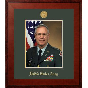 Army Portrait Honors Picture Frame By Patriot Frames