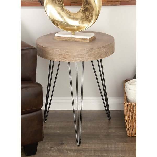 Metal And Wood Accent Table | Wayfair
