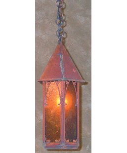 Saint George 1-Light Outdoor Hanging Lantern