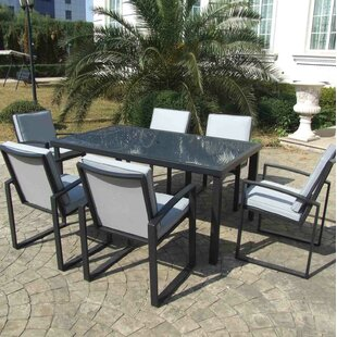 Patio Dining Chair with Cushion (Set of 6)