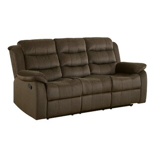 Falls Casual Solid Reclining Sofa by Red Barrel Studio