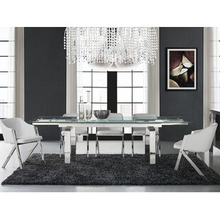 Cloud Extendable Dining Table by Casabianca Furniture Savings