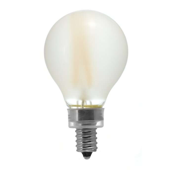 Frosted Light Bulbs >> 4w E12 Dimmable Led Edison Light Bulb Frosted