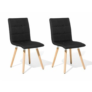 Comparison Bivens Upholstered Dining Chair (Set of 2) by Wrought Studio Reviews (2019) & Buyer's Guide