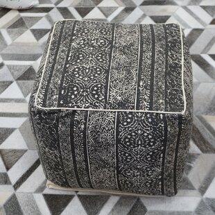 Whitesburg Cube Ottoman