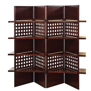 Berntsen 4 Panel Room Divider (Set of 2) by Bloomsbury Market