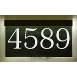 Lighted Address Plaques Signs You Ll Love In 2021 Wayfair