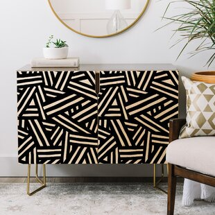 The Old Art Studio Monochrome Credenza East Urban Home