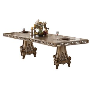 Hogan Extendable Dining Table Rosdorf Park
