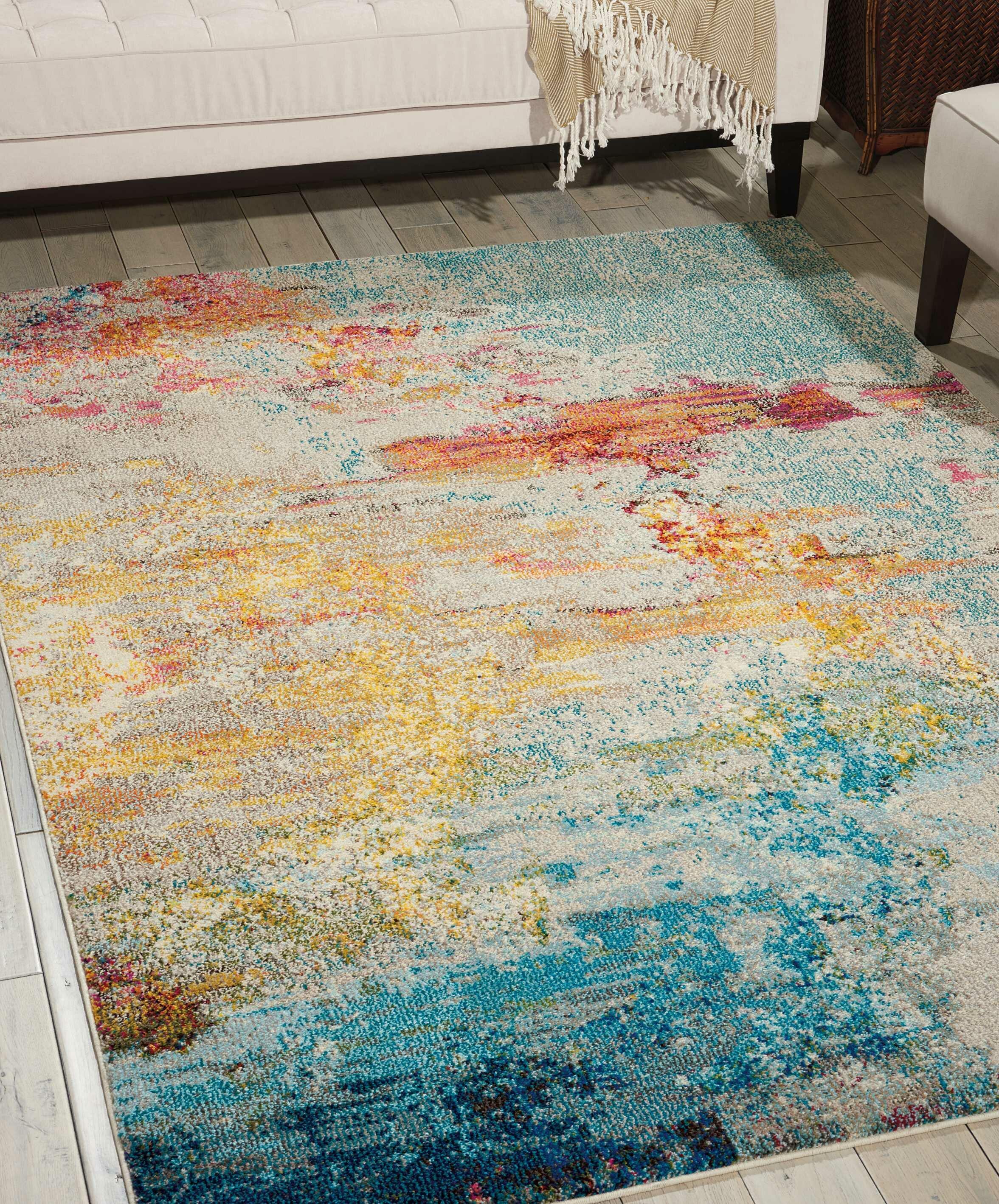 Talmo Sealife Multi Colour Area Rug