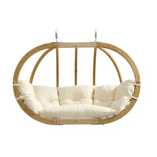 Sumner Porch Swing with Cushion