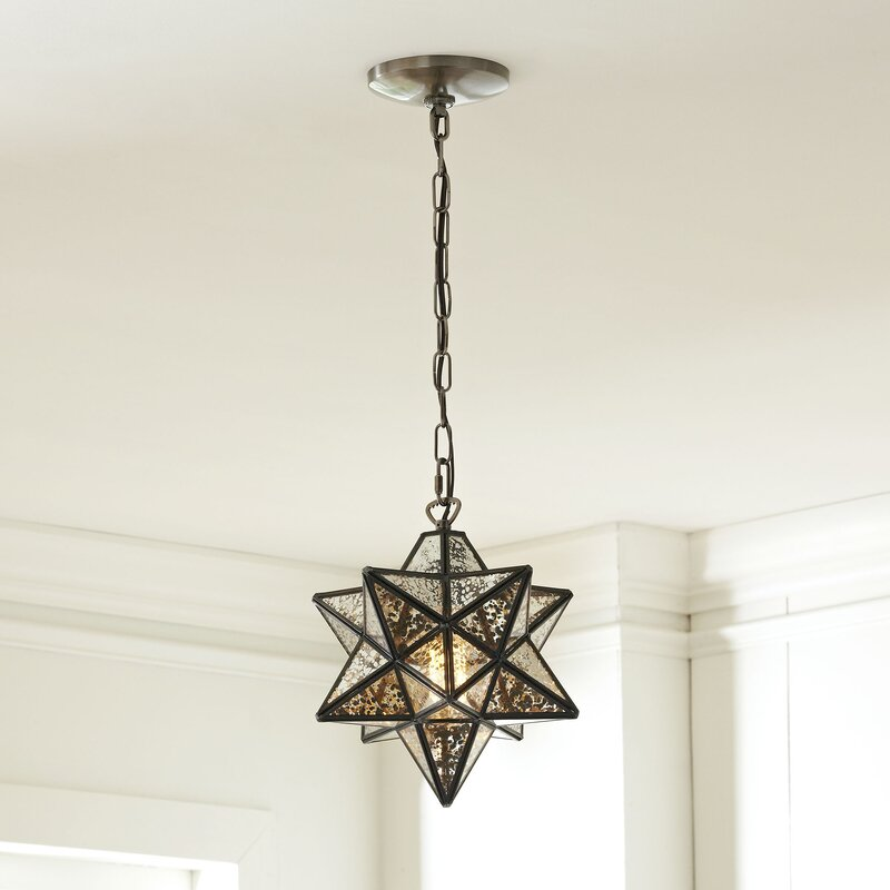 1-Light Geometric Pendant