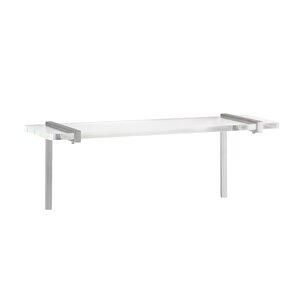 Metal/Acrylic Floating Shelf