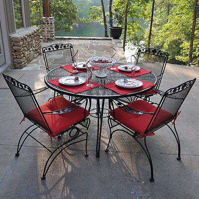 Vaillancourt 5 Piece Dining Set by Fleur De Lis Living Spacial Price