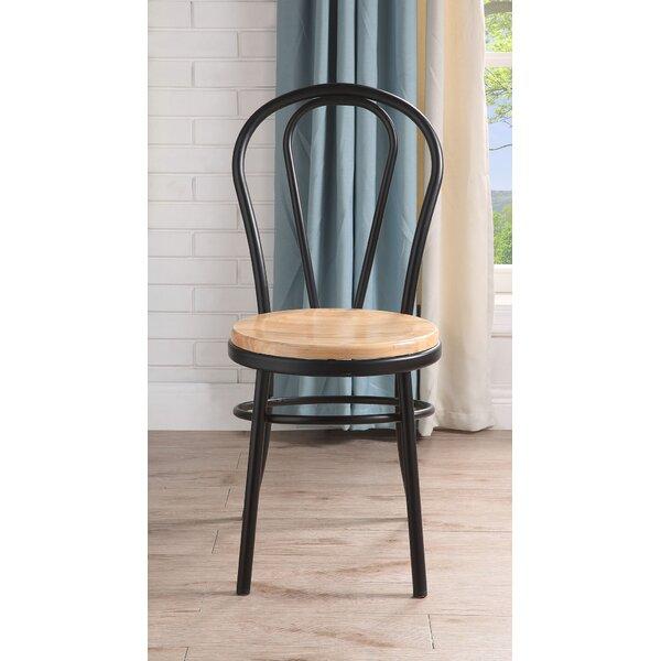 Gracie Oaks Rudra Windsor Back Side Chair In Brown Wayfair