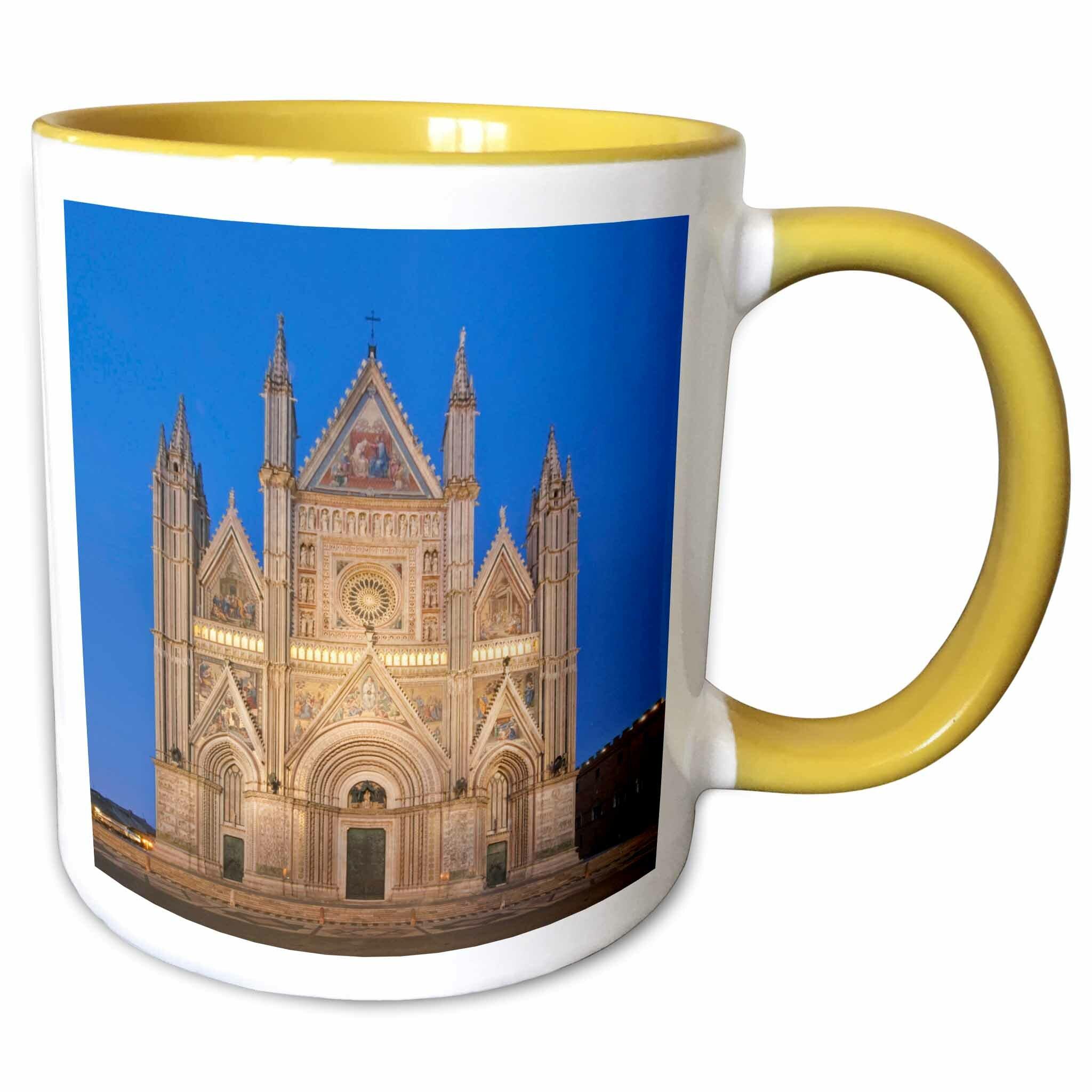 Symple Stuff Holloman Europe Italy Umbria Orvieto Orvieto Cathedral Coffee Mug Wayfair