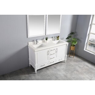 Ravenscroft 60 Double Bathroom Vanity Set by Red Barrel Studio