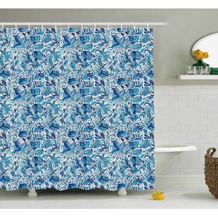 Beachborough Middle Eastern Nature Single Shower Curtain