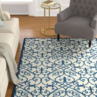 Sigel Blue/Beige Indoor/Outdoor Area Rug