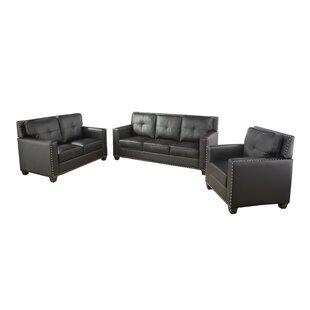 Antrina 3 Piece Standard Living Room Set