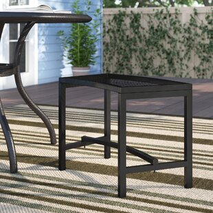 Fort Collins Metal Mesh Fire Pit Bench