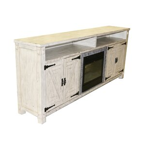 Pedroy TV Stand for TVs up to 85 with Fireplace by Gracie Oaks