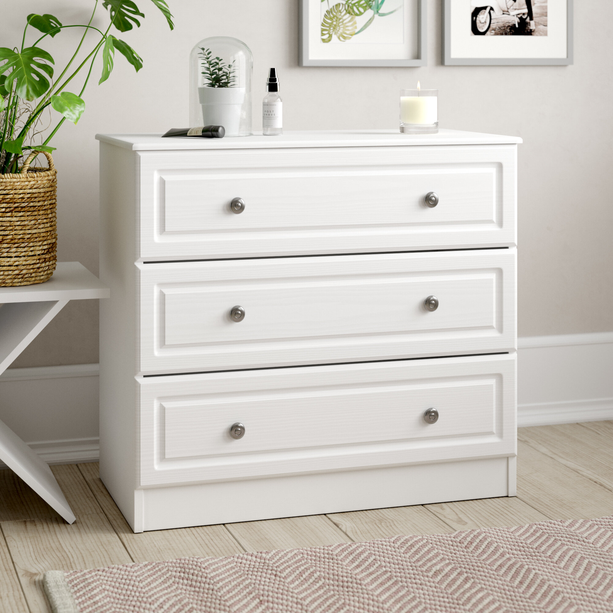Hampshire 3 Drawer Chest Of Drawers