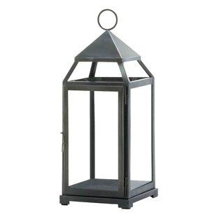 Large Contemporary Iron Lantern by Three Posts