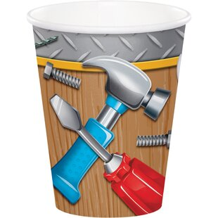 Handyman Paper Disposable Cup (Set of 24)