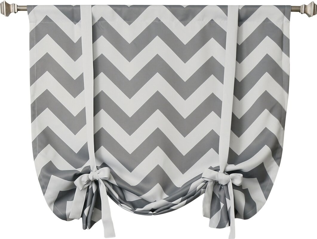 Chevron Print Tie Up Shade & Reviews