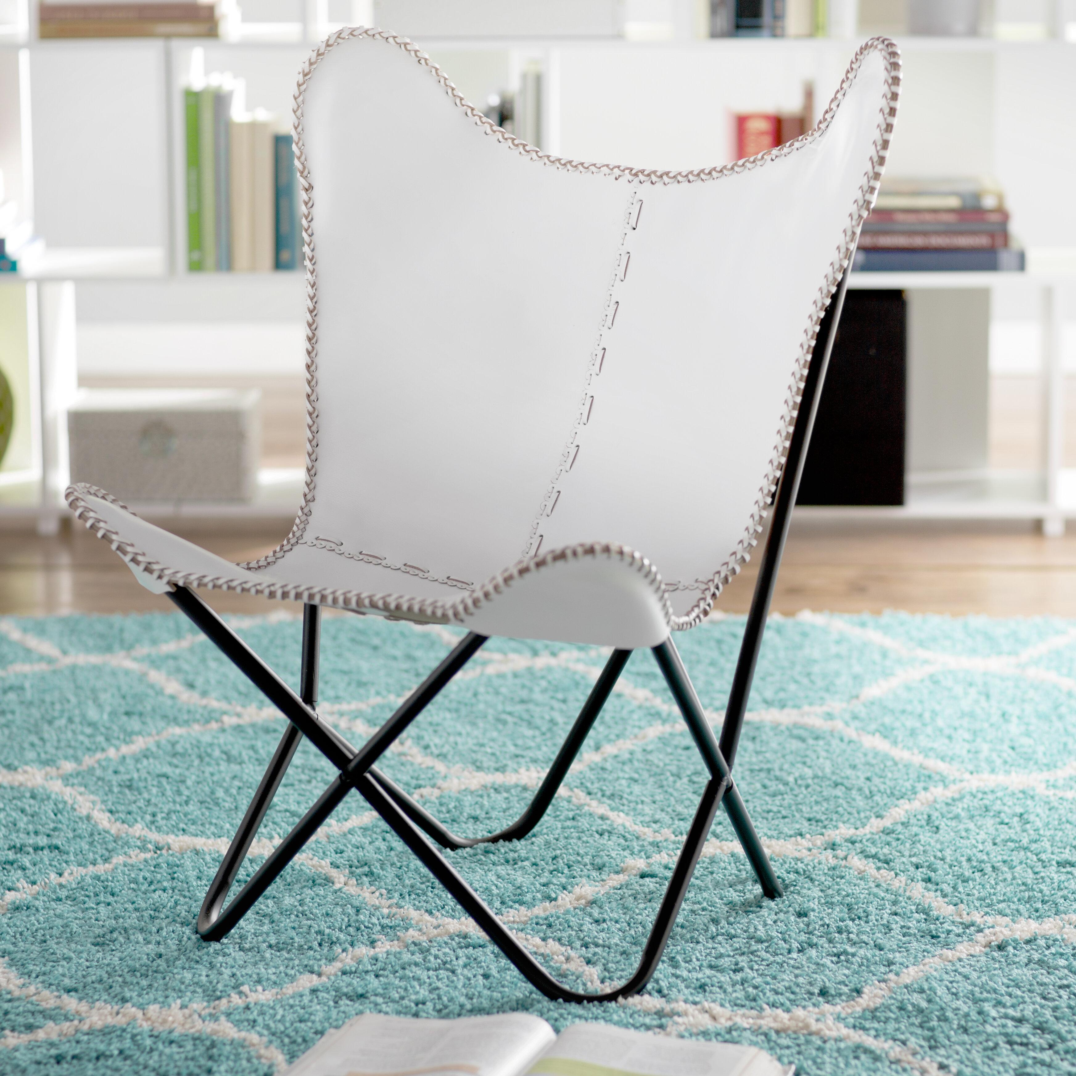 Zipcode Design Sharon Butterfly Lounge Chair & Reviews | Wayfair