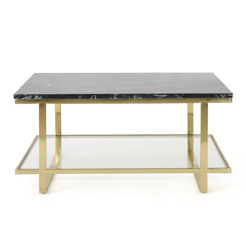 Diboll Marble Coffee Table Reviews Allmodern