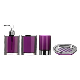 Purple Bathroom Accessories | Wayfair.co.uk